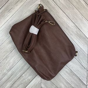 NWT Joy Susan vegan leather crossbody handbag